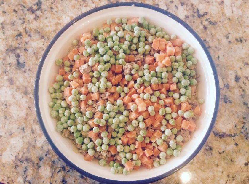 Peas + Carrots